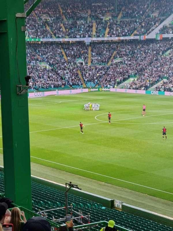 Celtic Park, secção: 119, fila: JJ, lugar: 36
