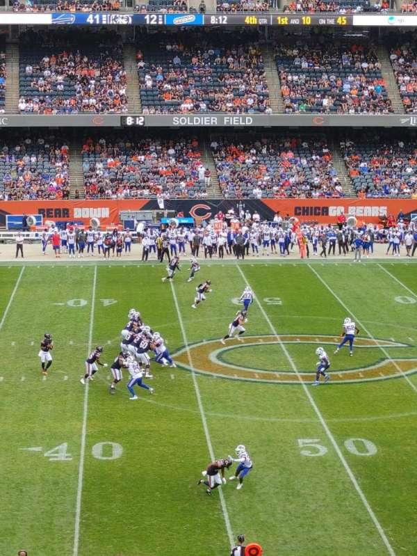 Soldier Field, secção: 338, fila: 2, lugar: 4