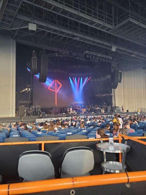 PNC Music Pavilion, secção: Box 30, fila: VIP
