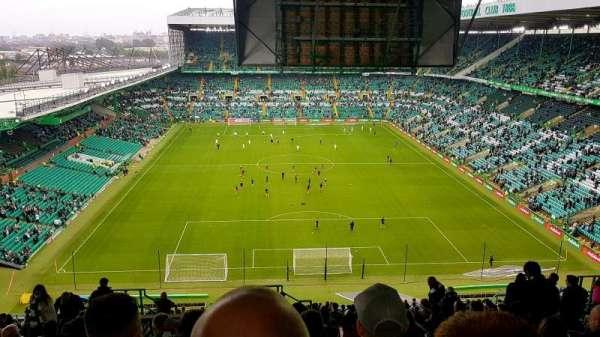 Celtic Park, secção: 417, fila: Z, lugar: 7