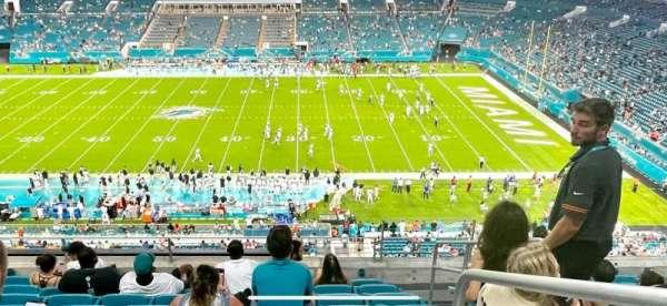 Hard Rock Stadium, secção: 316, fila: 8, lugar: 4