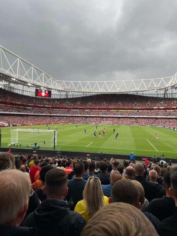 Emirates Stadium, secção: 23, fila: 20, lugar: 31
