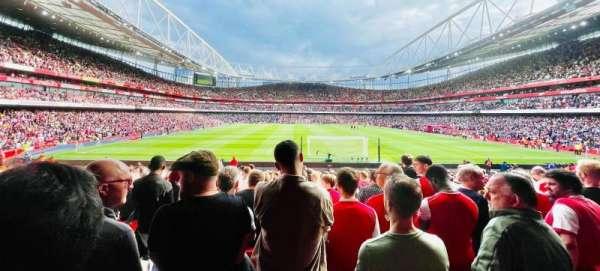 Emirates Stadium, secção: 9, fila: 24, lugar: 259