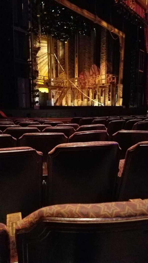 Fox Theatre (Atlanta), secção: Orchestra L, fila: K, lugar: 9