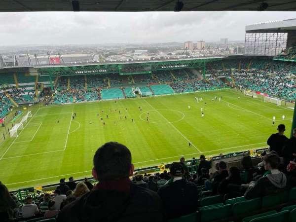 Celtic Park, secção: 407, fila: Q, lugar: 22