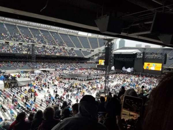 Soldier Field, secção: 213, fila: 16, lugar: 8