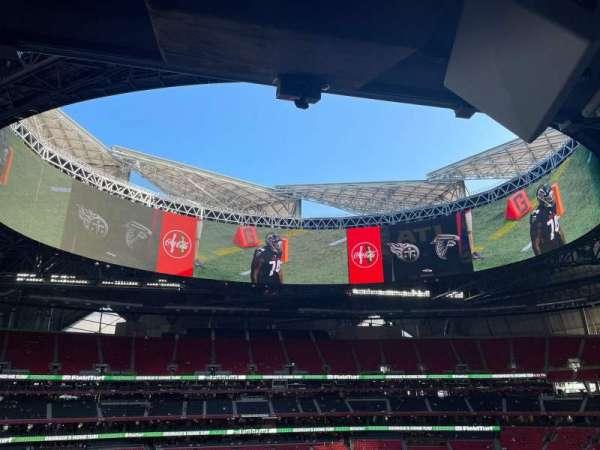 Mercedes-Benz Stadium, secção: 239, fila: 11, lugar: 11