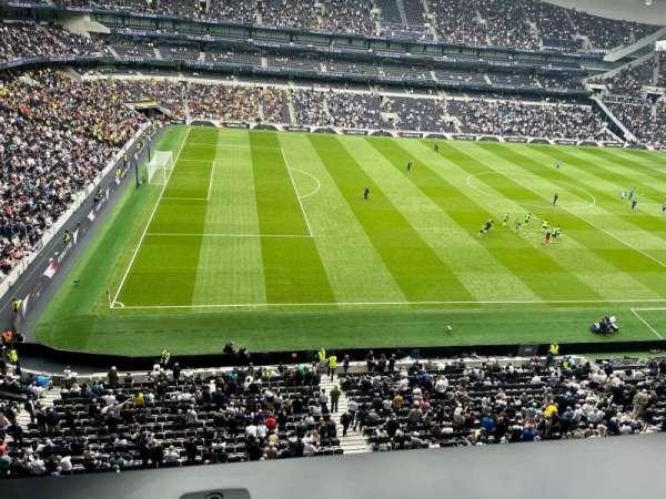 Tottenham Hotspur Stadium, secção: 507, fila: 1, lugar: 258