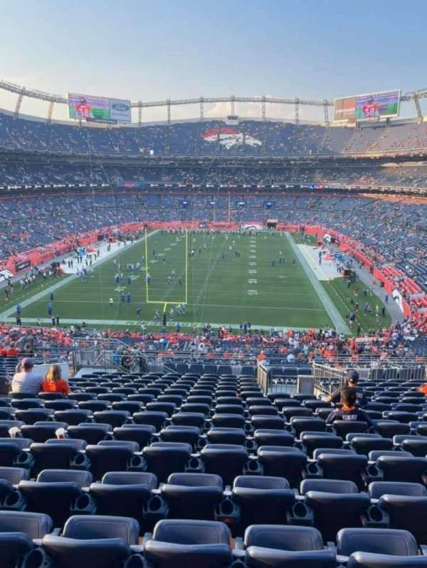 Empower Field at Mile High Stadium, secção: 231, fila: 20, lugar: 20