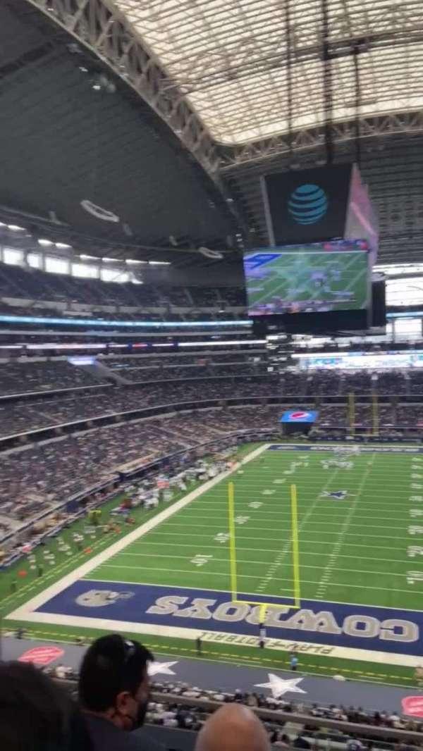 AT&T Stadium, secção: 322, fila: 3, lugar: 15