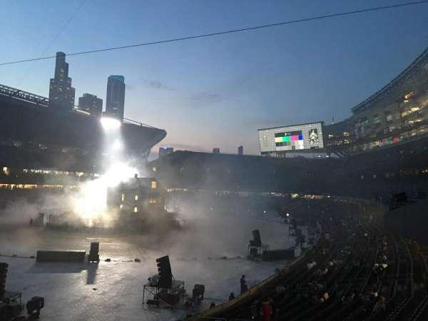 Soldier Field, secção: 218, fila: 2, lugar: 7