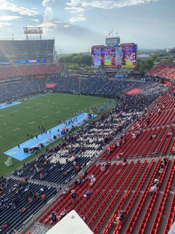Nissan Stadium, secção: 316L, fila: A, lugar: 16