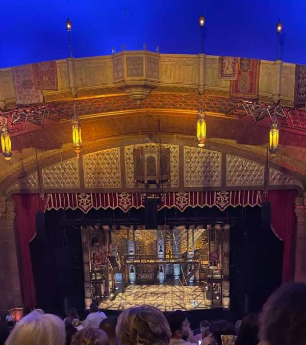 Fox Theatre (Atlanta), secção: Dress Circle Right A, fila: K, lugar: 110