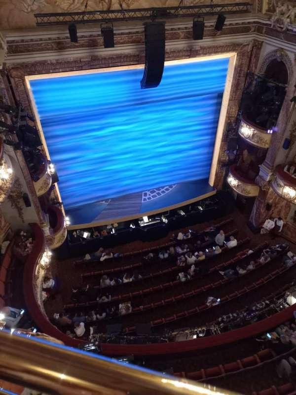 Novello Theatre, secção: Balcony, fila: A, lugar: 24