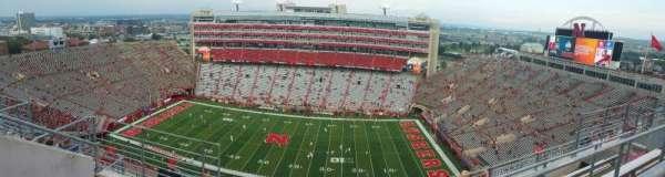 Memorial Stadium (Lincoln), secção: 605, fila: 7, lugar: 4
