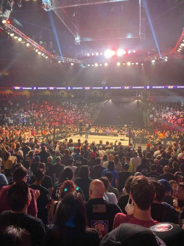Now Arena, secção: 116, fila: 6, lugar: 17