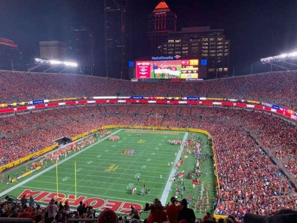 Bank of America Stadium, secção: 552, fila: 17, lugar: 21