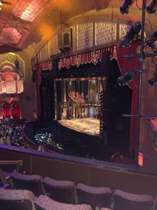 Fox Theatre (Atlanta), secção: Loge Right F, fila: DD, lugar: 46