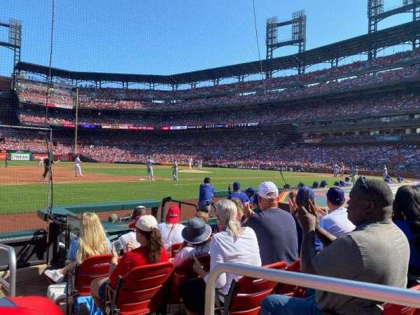 Busch Stadium, secção: 159D, fila: G, lugar: 1