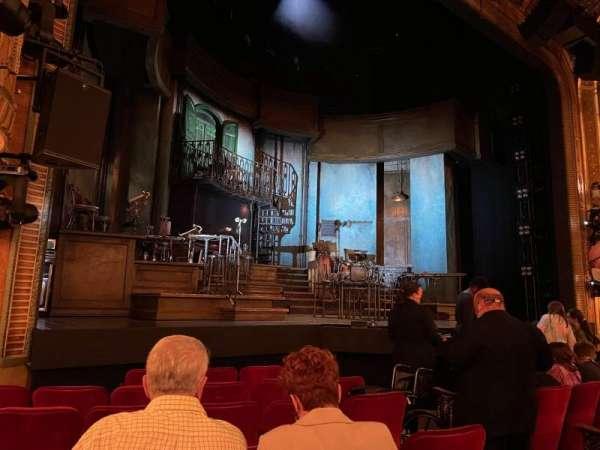 Walter Kerr Theatre, secção: Orchestra L, fila: H, lugar: 9