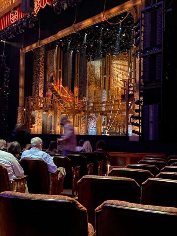 Fox Theatre (Atlanta), secção: Orchestra R, fila: K, lugar: 6