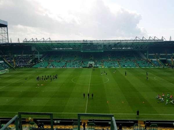Celtic Park, secção: 405, fila: A, lugar: 20