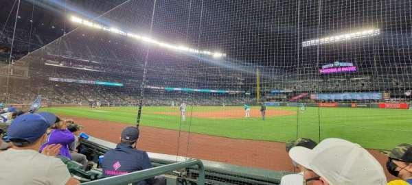 T-Mobile Park, secção: 118, fila: 3, lugar: 1
