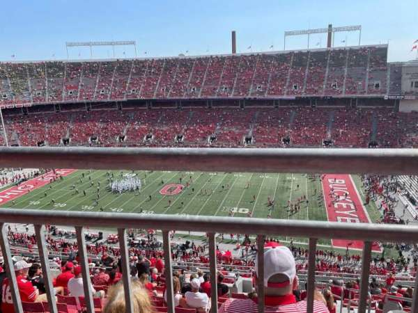 Ohio Stadium, secção: 23D, fila: 1, lugar: 1