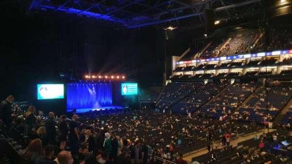 The O2 Arena, secção: 104, fila: Z, lugar: 125