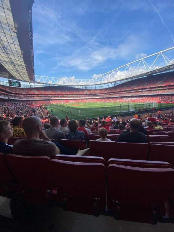Emirates Stadium, secção: 27, fila: 23, lugar: 854