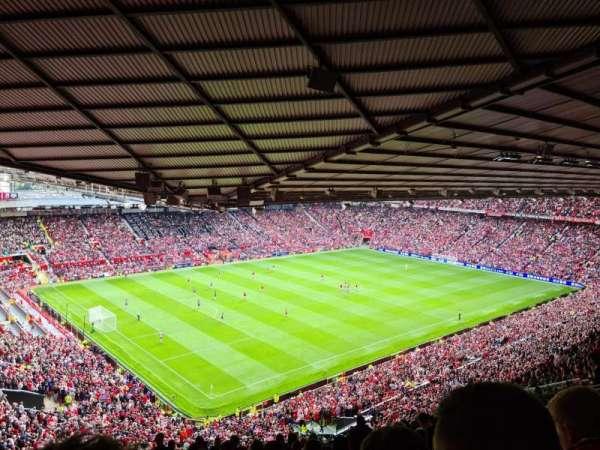 Old Trafford, secção: NE3426, fila: 28, lugar: 55