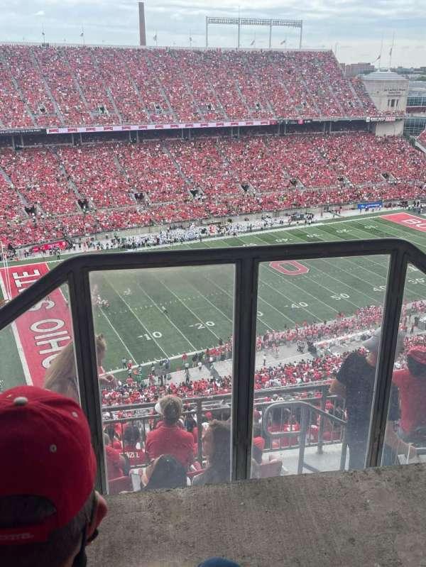 Ohio Stadium, secção: 15D, fila: 3, lugar: 1