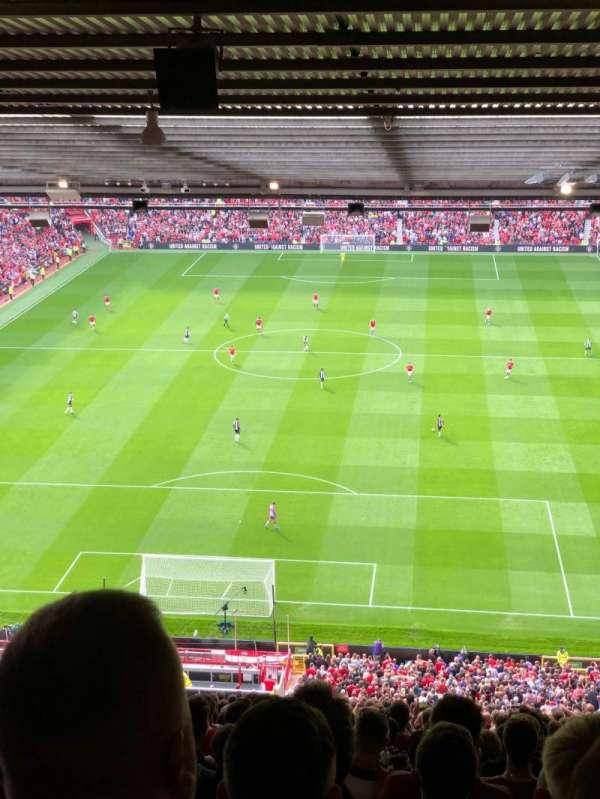 Old Trafford, secção: E334, fila: 37, lugar: 65