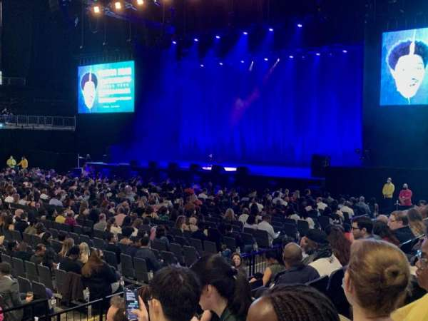 The O2 Arena, secção: 111, fila: G, lugar: 355