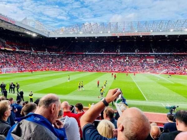 Old Trafford, secção: STH124, fila: 11, lugar: 138