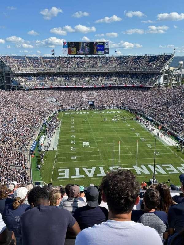 Beaver Stadium, secção: NGU, fila: 91