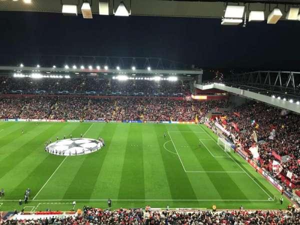 Anfield, secção: U6, fila: 64, lugar: 178