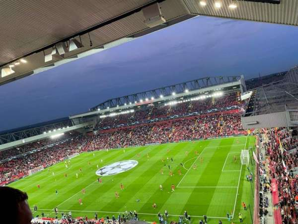 Anfield, secção: U9, fila: 60, lugar: 151