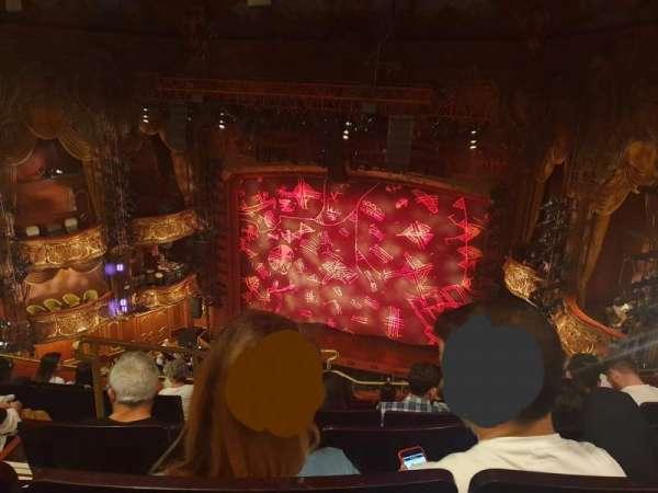 Lyceum Theatre (West End), secção: Grand circle, fila: F, lugar: 14