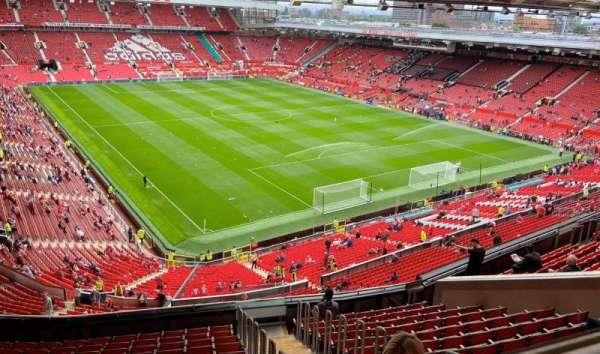 Old Trafford, secção: NW3434, fila: 16, lugar: 24