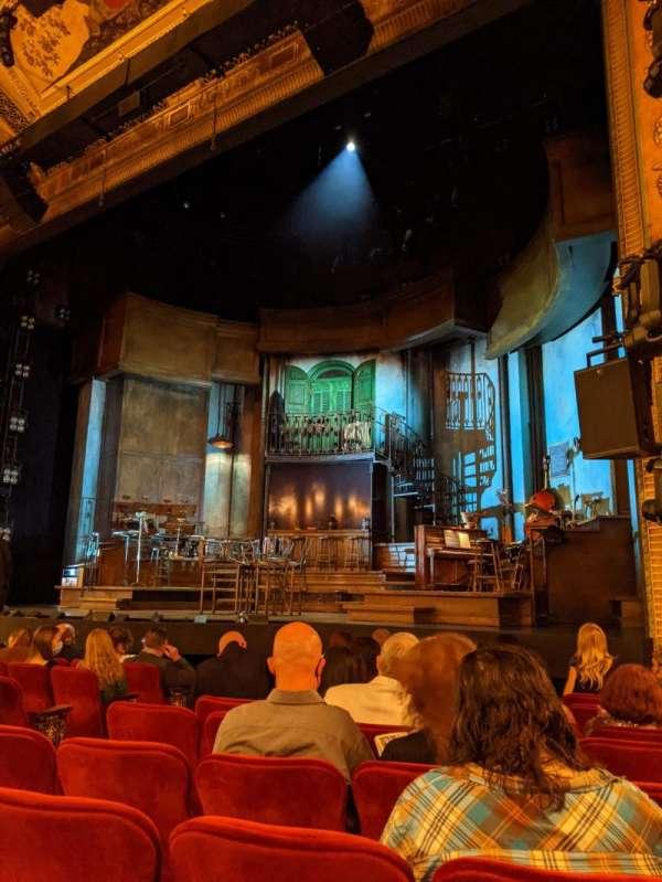 Walter Kerr Theatre, secção: Orchestra R, fila: K, lugar: 12
