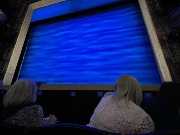 Novello Theatre, secção: Stalls, fila: D, lugar: 10