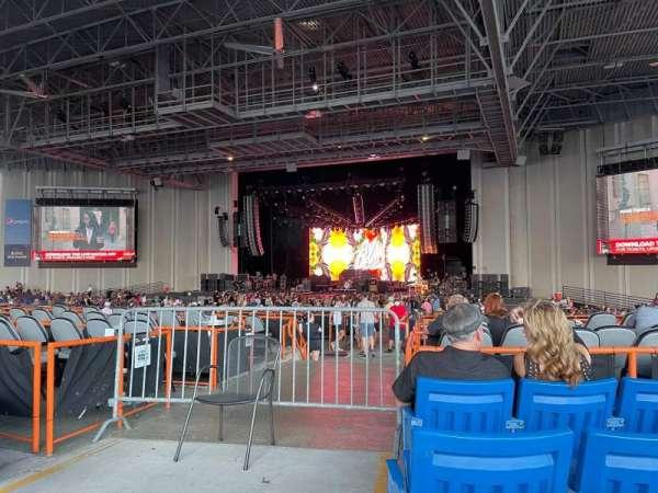 PNC Music Pavilion, secção: 5, fila: M, lugar: 41