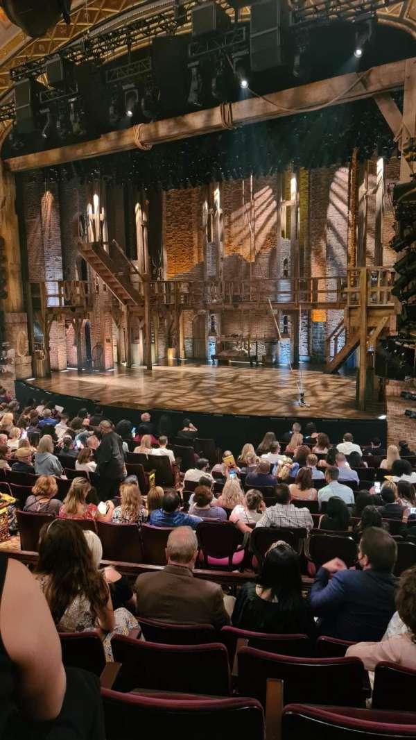 Richard Rodgers Theatre, secção: Orchestra R, fila: P, lugar: 24