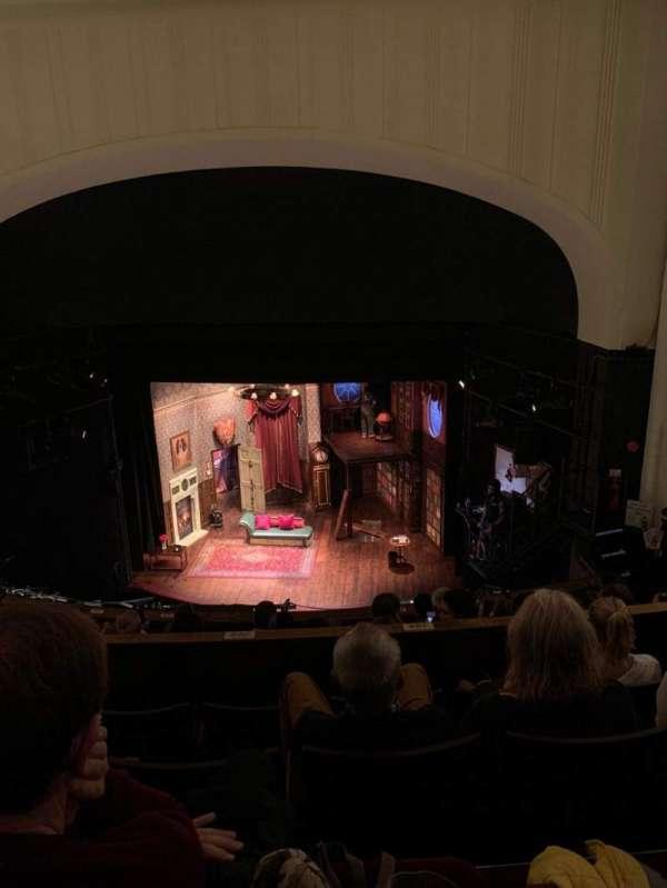 Duchess Theatre, secção: Dress Circle, fila: H, lugar: 6