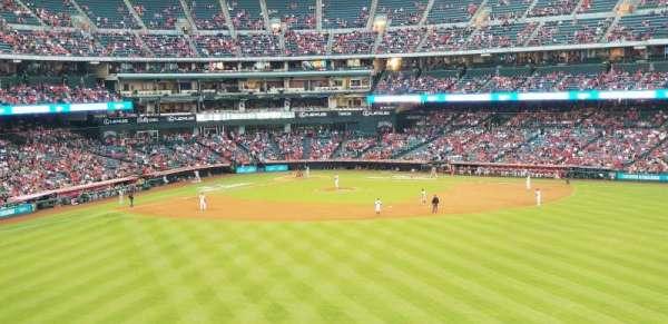 Angel Stadium, secção: 247, fila: C, lugar: 23