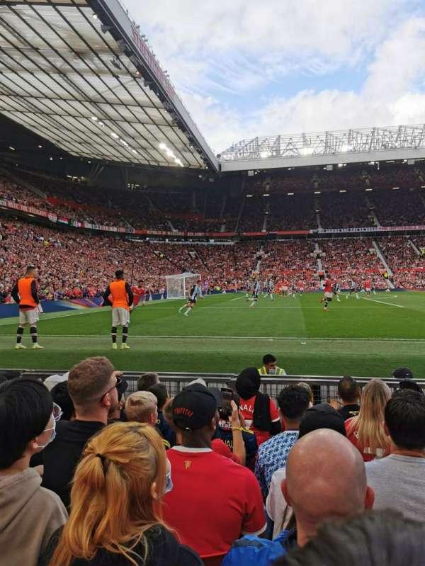 Old Trafford, secção: Sth122, fila: GG