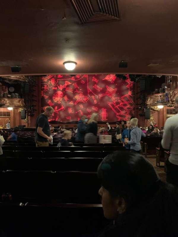 Lyceum Theatre (West End), secção: Stalls, fila: Z, lugar: 15