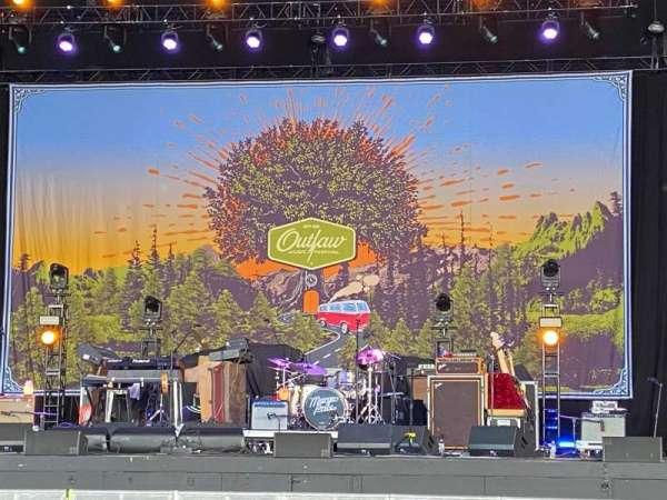 PNC Music Pavilion, secção: 2, fila: O, lugar: 8
