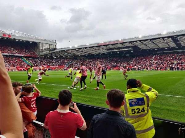 Old Trafford, secção: N1411, fila: CC, lugar: 38